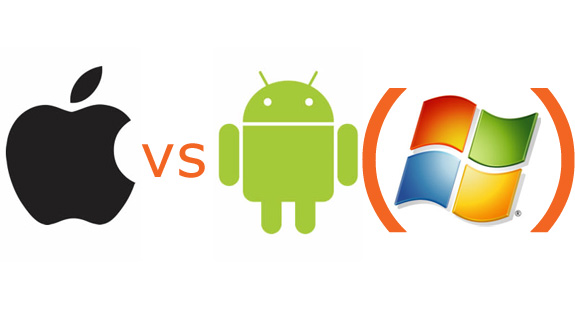 MAC iOS versus Google Android and Window Mobile